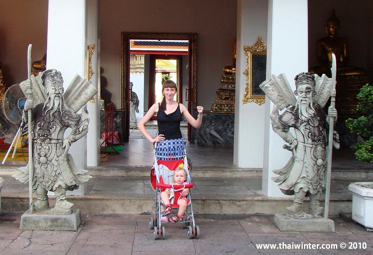 Прогулки по Бангкоку с ребенком