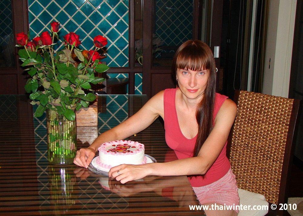 Жанночка с тортиком