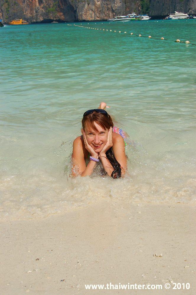 Жанна на райском острове