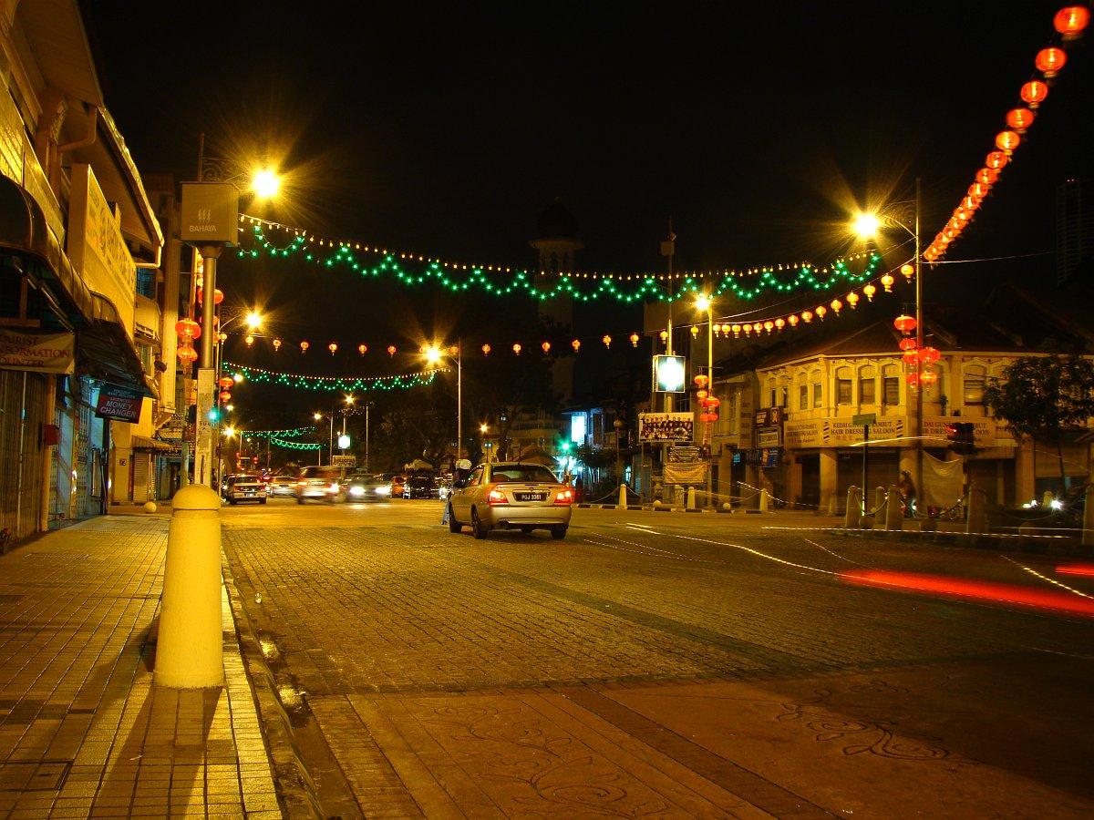 Улица ночью