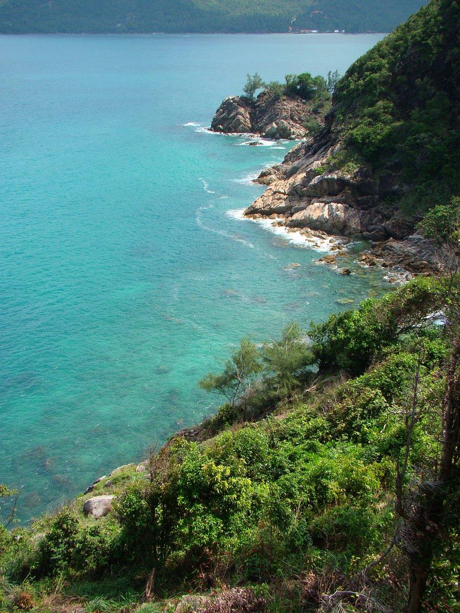 Красивый Hin Ngam Beach с высоты