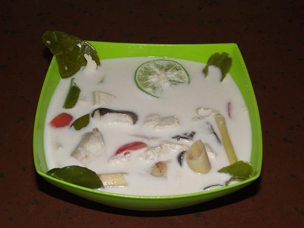 Готовый супчик | Тайский суп на кокосовом молоке | Зима в Таиланде