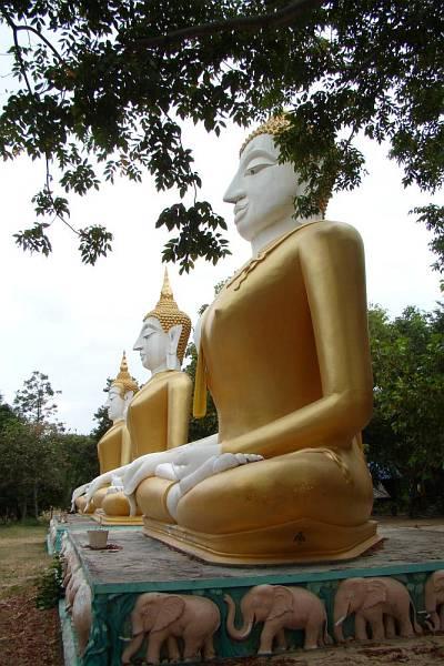 Статуи Будды | Катание на слонах в Хуа Хине