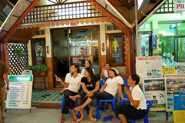 Массажный салон | Тайский массаж тела, головы, ног | Зима в Таиланде