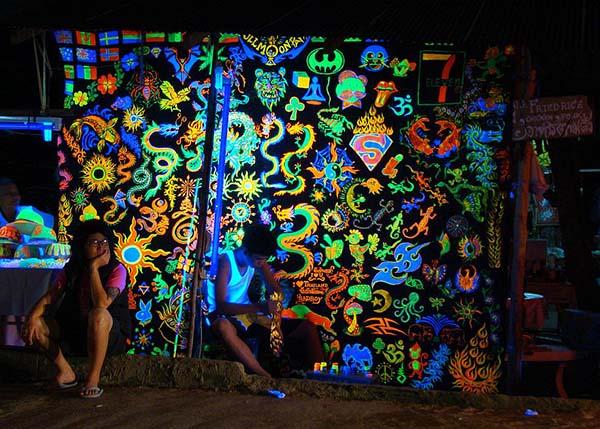 Koh Phangan Full Moon Party, Вечеринка полной луны | Зима в Таиланде