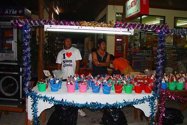 Ведерки с пойлом | Koh Phangan Full Moon Party, Вечеринка полной луны | Зима в Таиланде