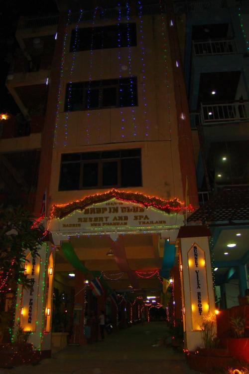 Огни отелей | Koh Phangan Full Moon Party, Вечеринка полной луны | Зима в Таиланде