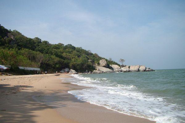 Пляж Sai Noi в Хуа Хине | Зима в Таиланде