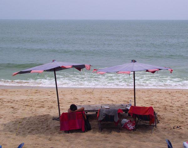 На пляже Sai Noi в Хуа Хине | Зима в Таиланде