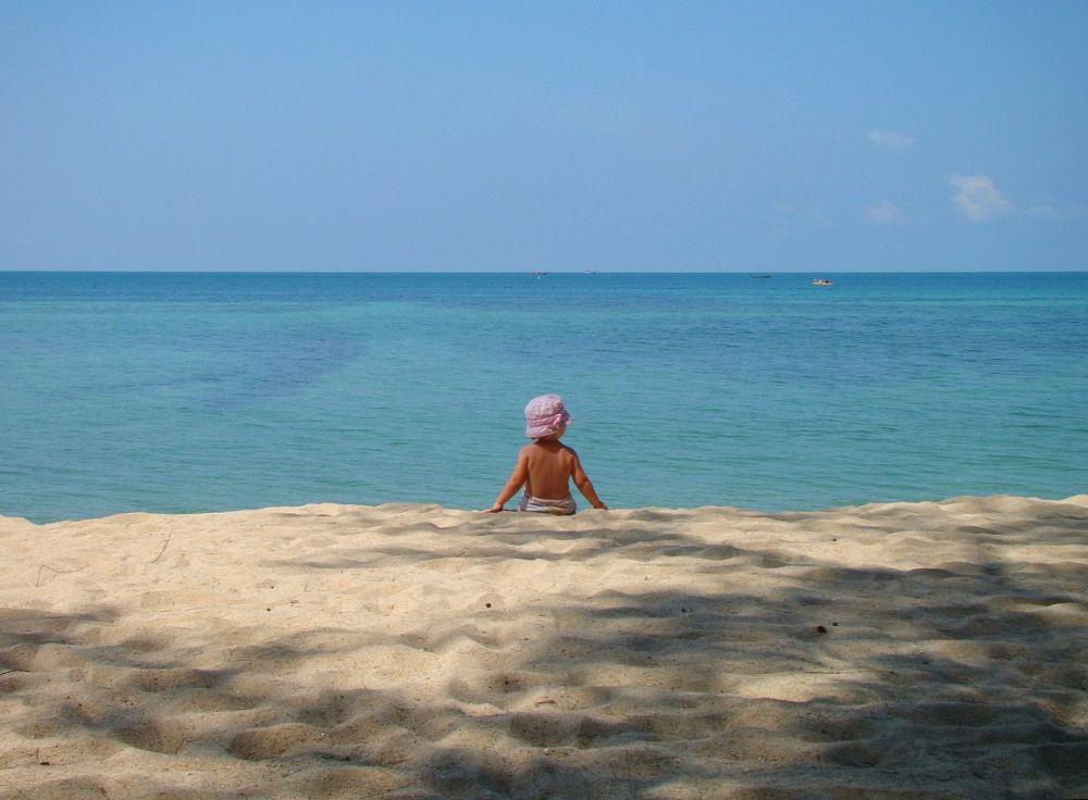 Василиса на райском острове Панган | Зима в Таиланде