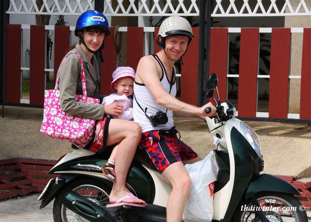 Мотобайкеры в Хуа Хине | Зима в Таиланде