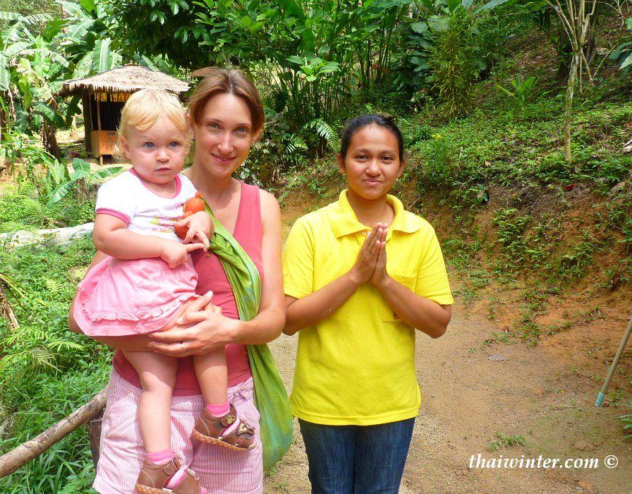 Вежливые тайцы на острове Панган | Зима в Таиланде