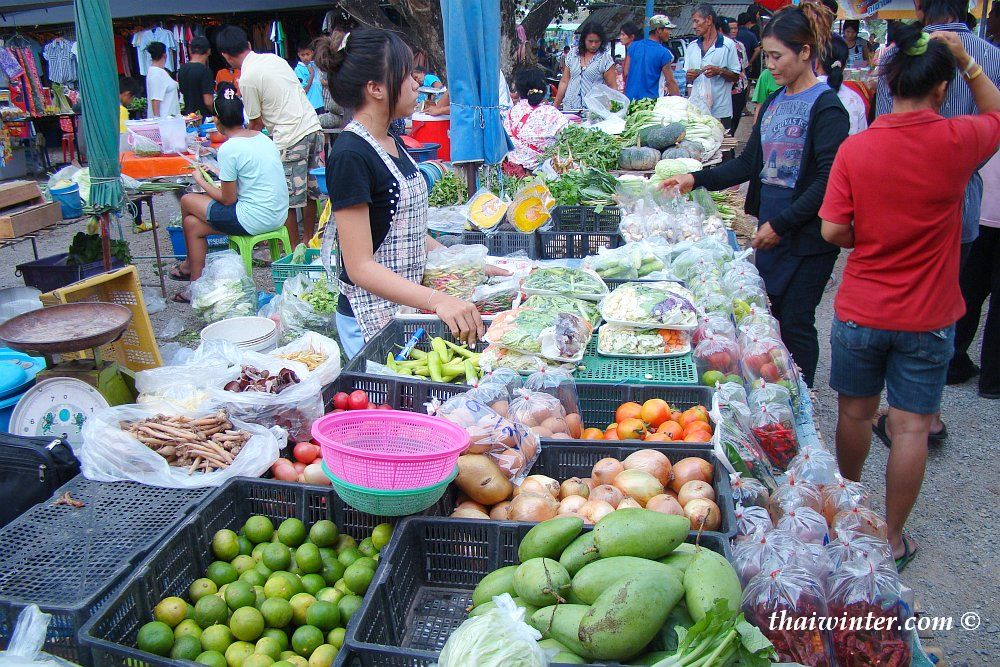 Тайский рыночек | Зима в Таиланде