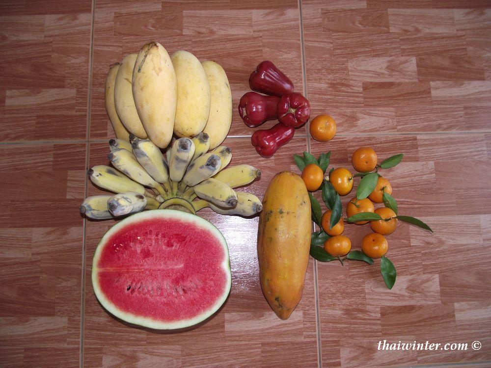 Обед для фруктоедов | Зима в Таиланде
