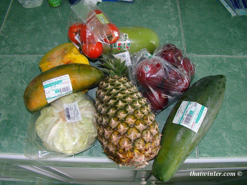 Не хилый перекус на 100 бат | Зима в Таиланде