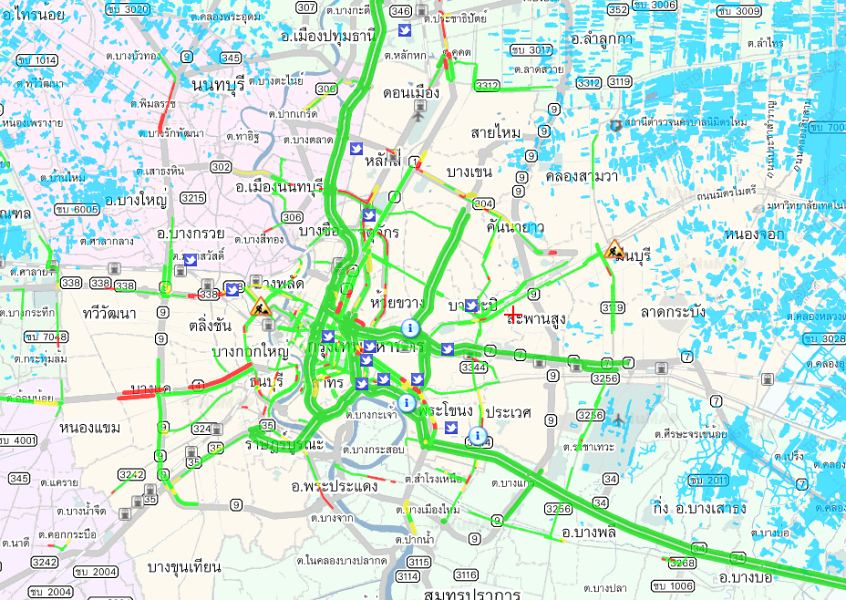 Наводнение в Таиланде, Бангкок | Зима в Таиланде
