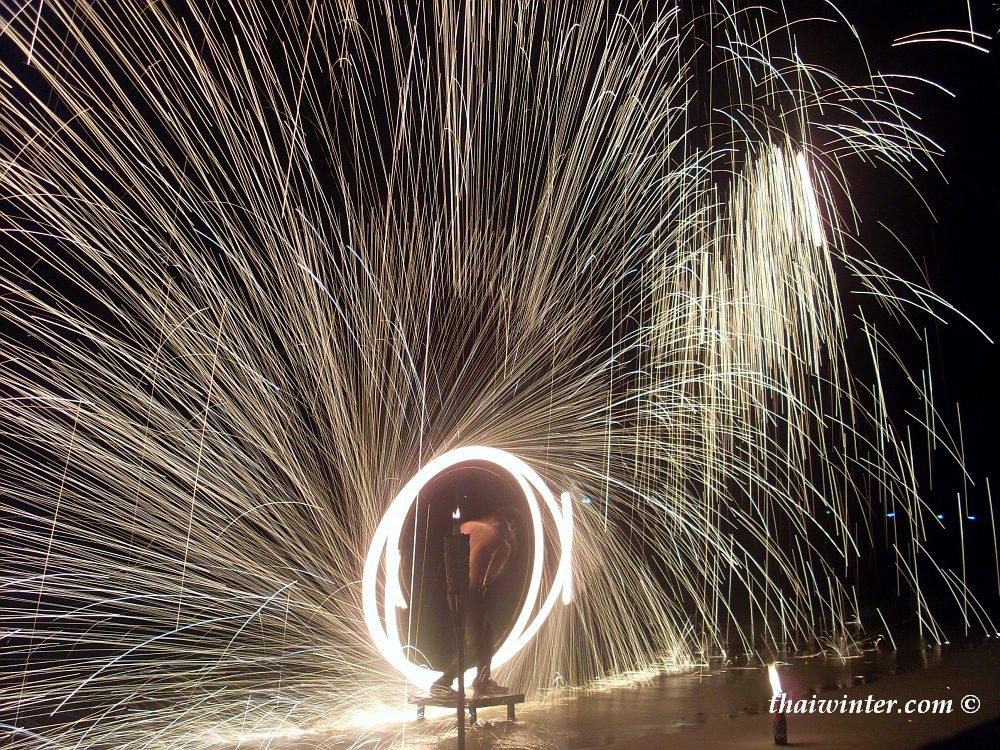 Fire Show In Swing Bar | Зима в Таиланде