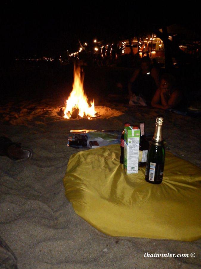 Фондю на новый 2012 год в Таиланде на пляже! | Зима в Таиланде