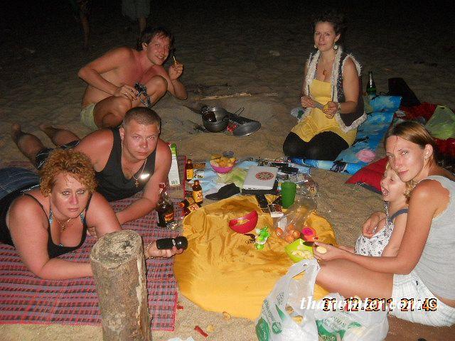 Новый 2012 год в Таиланде на пляже! | Зима в Таиланде