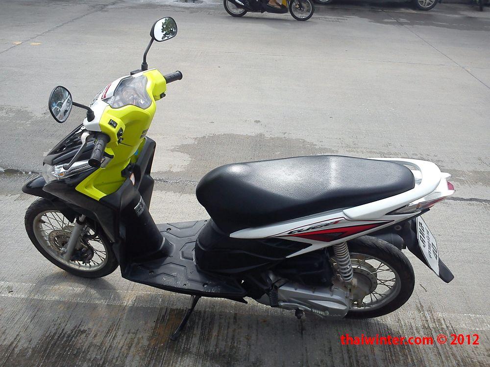 Аренда нового мотобайка в Таиланде! | Honda Click на Пангане