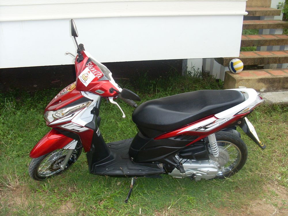 Аренда нового мотобайка в Таиланде! | Honda Click на Самуи