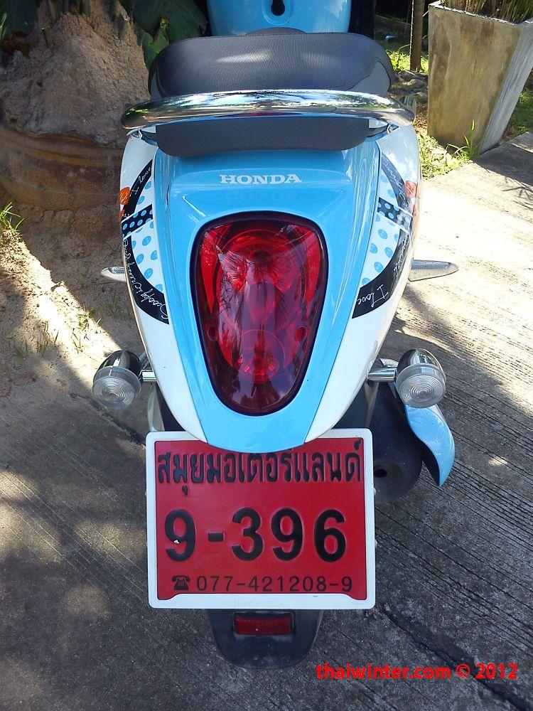 Аренда нового мотобайка в Таиланде!