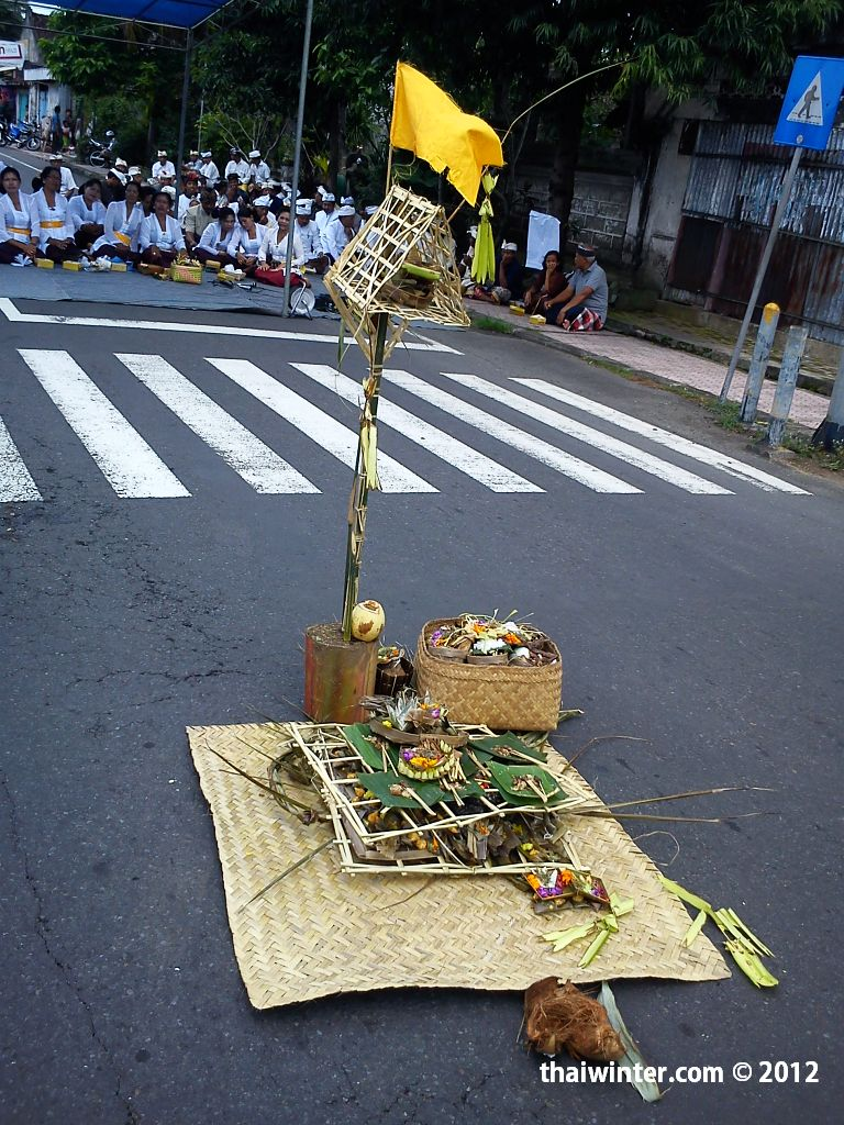Tawur Kesanga перед Nyepi Day на Бали | Зима в Таиланде