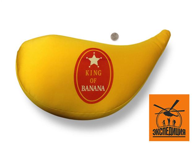Антистресс-подушка Банан | Зима в Таиланде