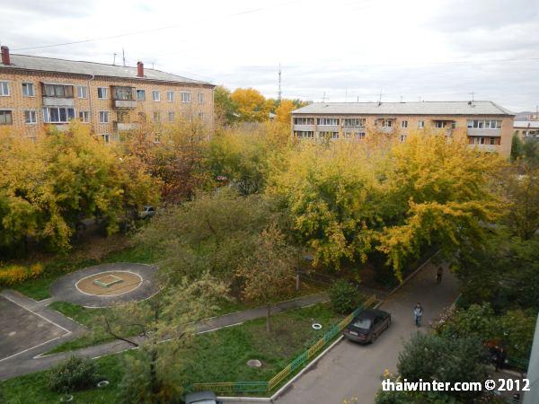 Осень в Красноярске