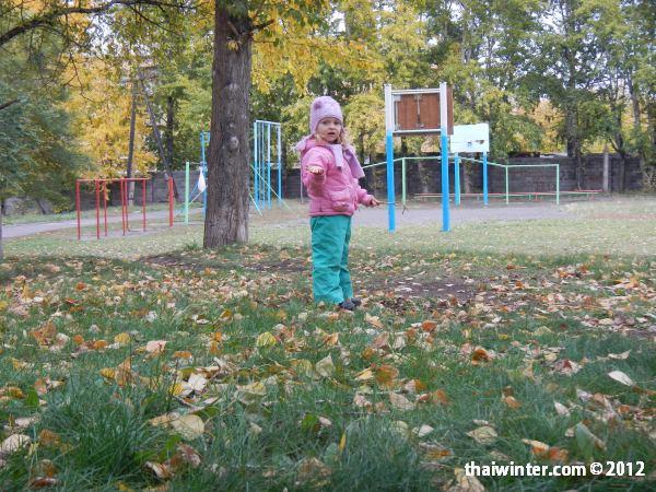 Василиса осенью в Красноярске