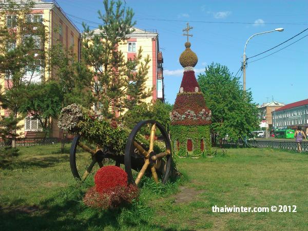 Лето в Красноярске