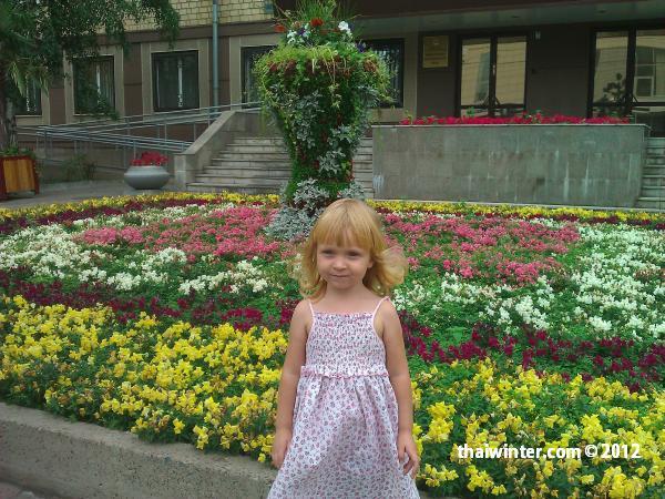 Василиса летом в Красноярске