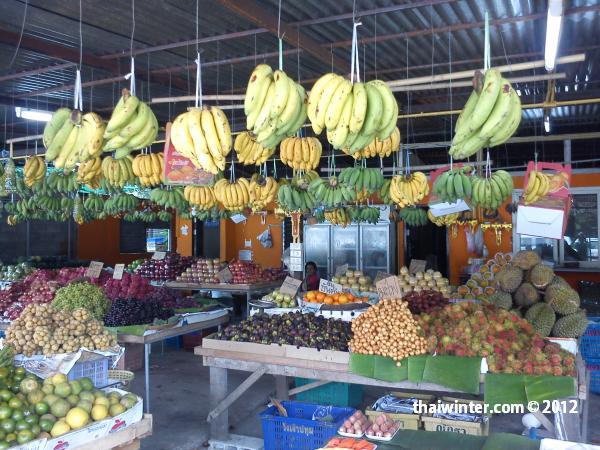 Тайские фрукты - маркет