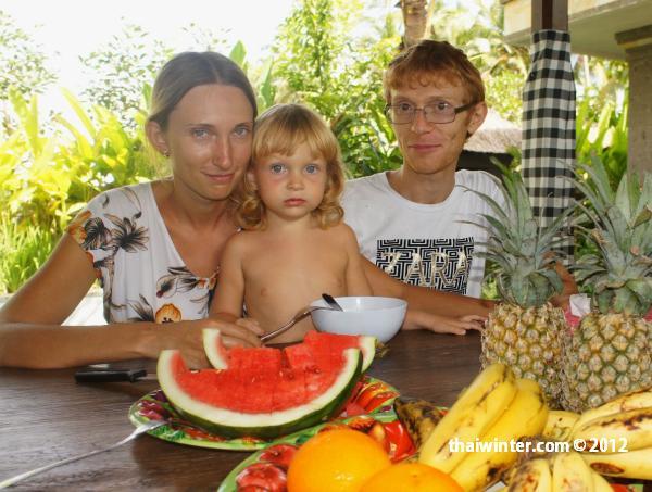 Мы на Бали