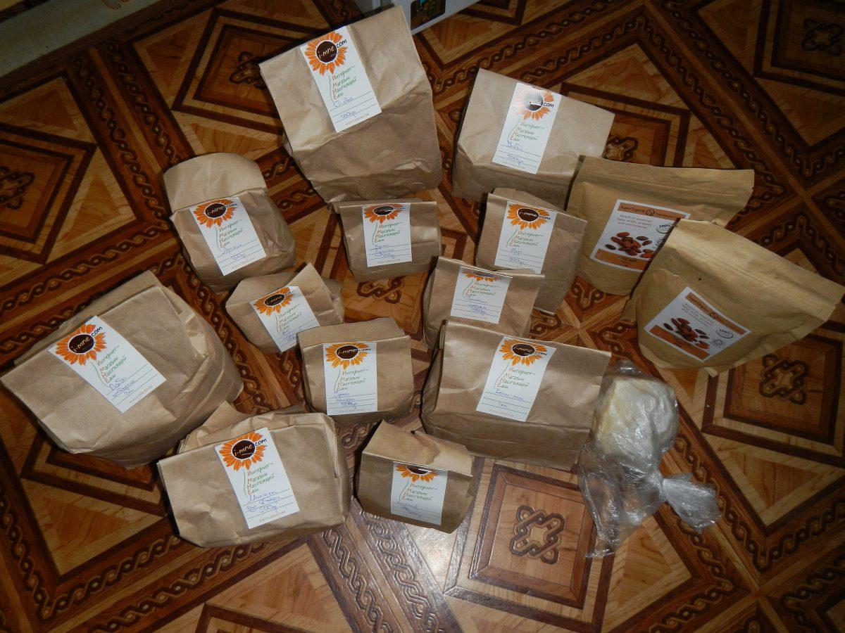 Заказ продуктов в интернет магазине для сыроедов