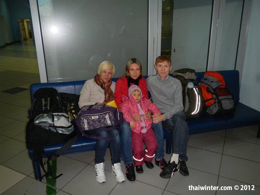 Перед вылетом из Красноярска