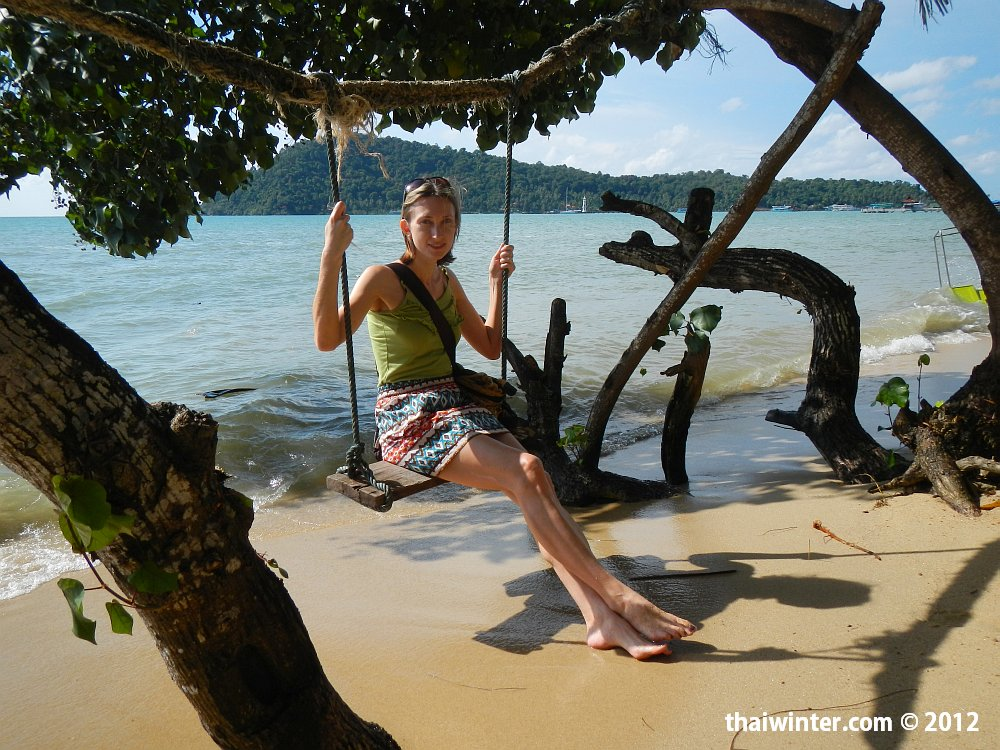 На одном из пляжей Ко Чанга