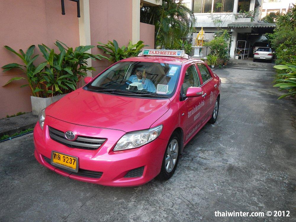 Бангкокское такси