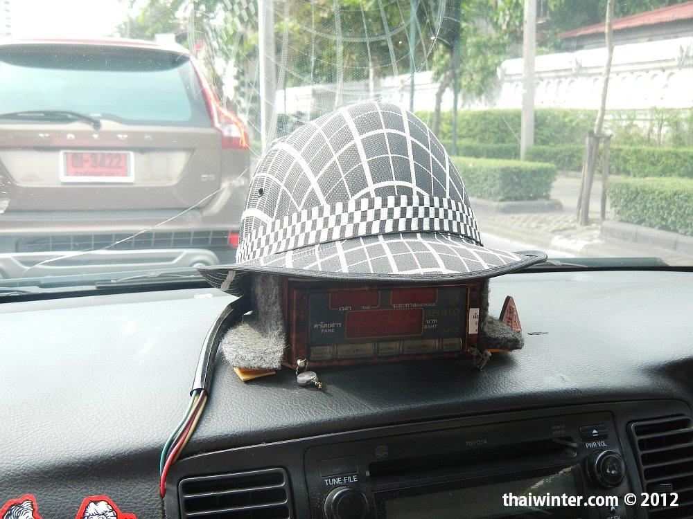 Бангкокское такси - таксометр бывает и не включают