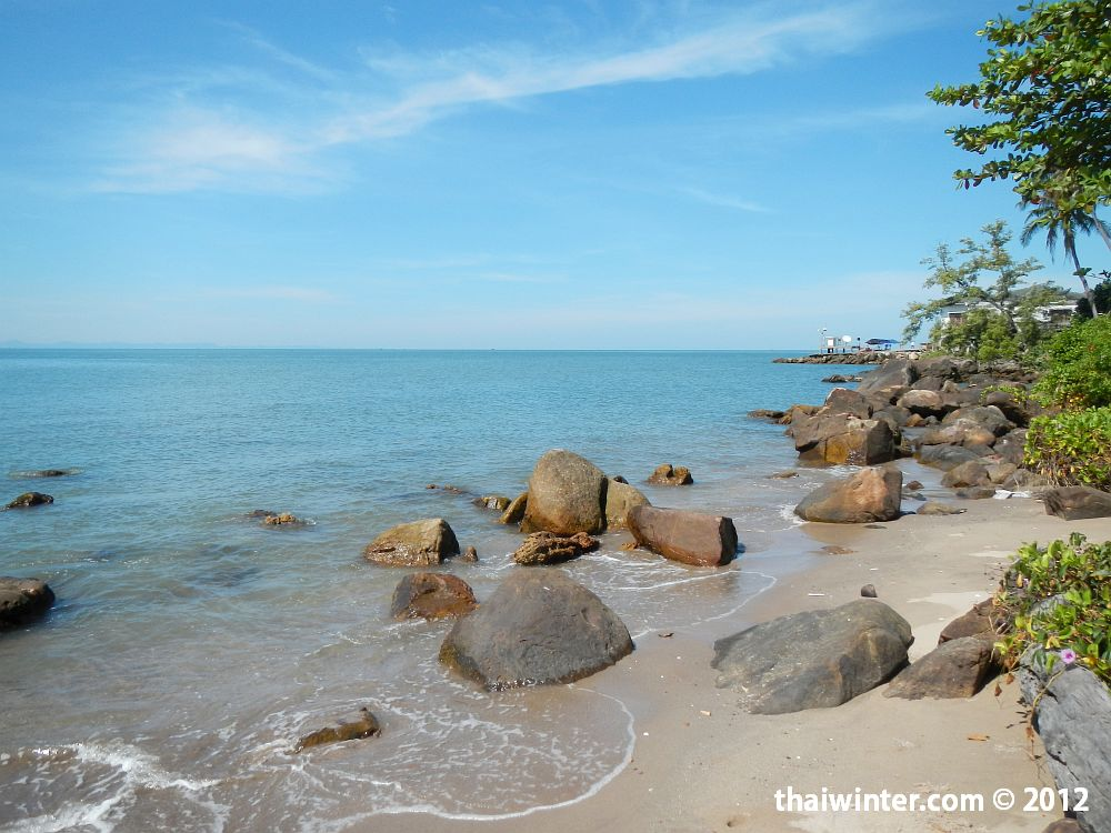 Путь до пропускного пункта Камбоджии