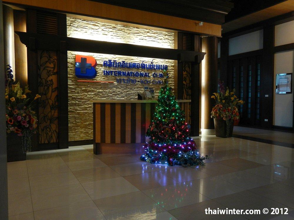 Елочка в International Clinic Koh Chang