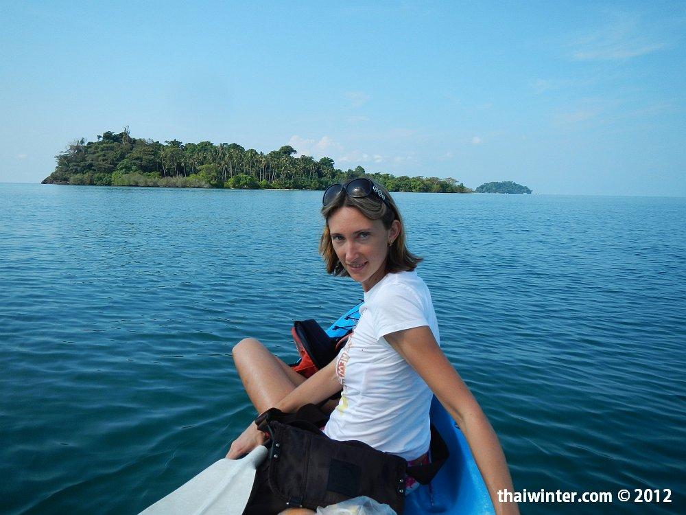 Плывем к острову Kho Man Nai