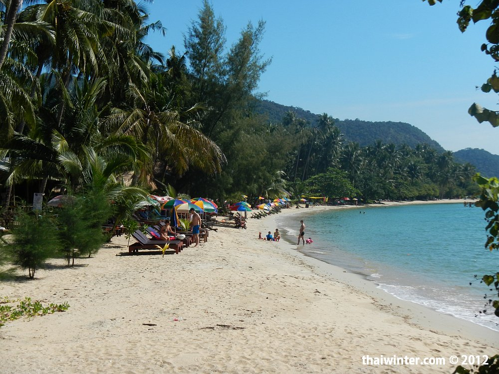 Yu-Yu Golden Beach - часть Klong Kloi Beach