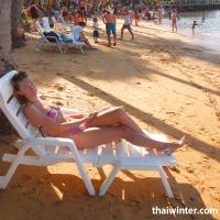 Пляж на острове Koh Wai