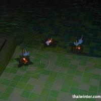 Запуск кратонгов в бассейне Mercure Hideaway