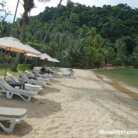 Пляж отеля Mercure Hideaway