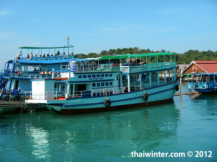 Тихоходная лодка компании Aittipol Tour