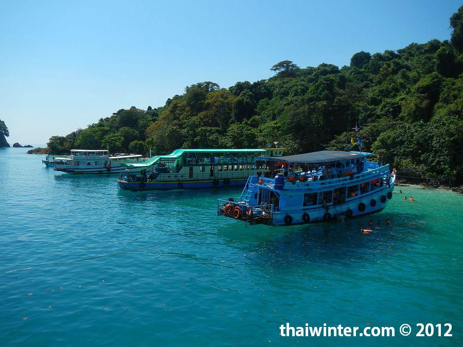 Снорклинг тур на Ко Чанге - остравок с белым пляжем