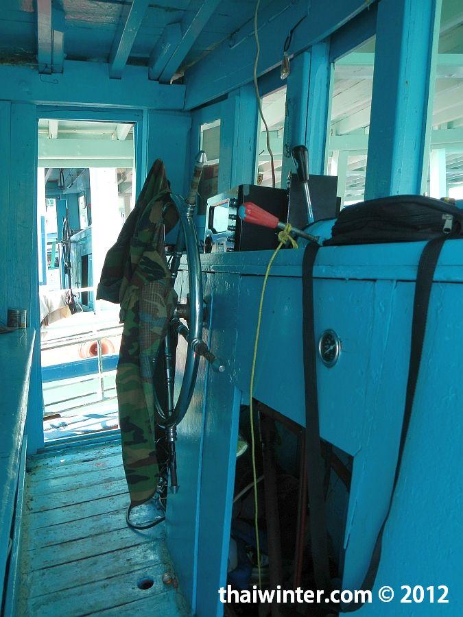 Снорклинг тур на Ко Чанге - капитанская кабина