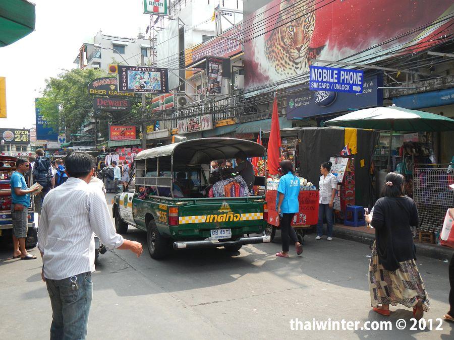 Khao San Road в Бангкоке